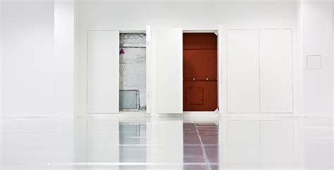 Jib Door by Jib Door Secret Door To Room Teal Blue Walls And
