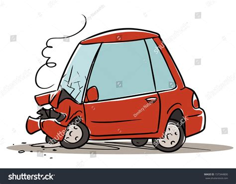 cartoon car crash clip art car crash cliparts