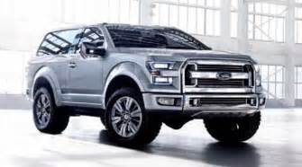 Ford Bronco 2016 Price 2017 Ford Bronco Exterior Interior Price Specs New