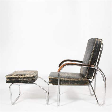 bauhaus chair and ottoman bauhaus 1920s original bauhaus easy chair and ottoman