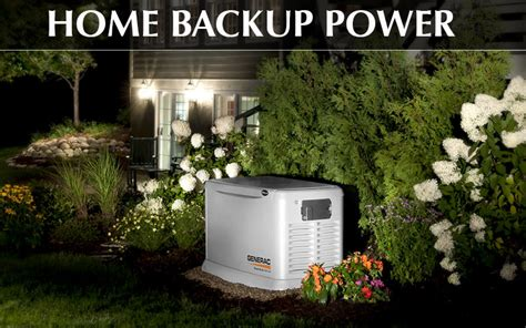 benefits of home backup generators