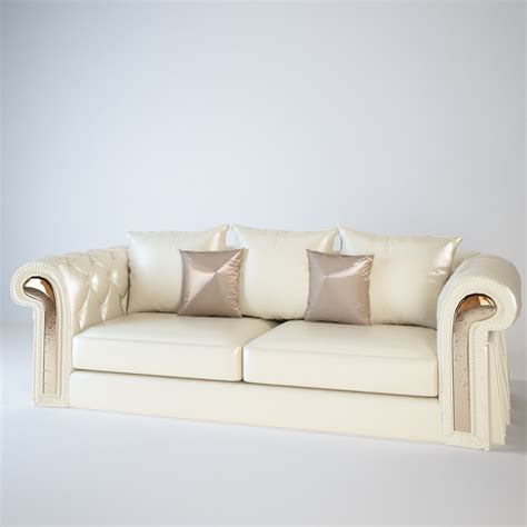 couture sofa two seater sofa from wood with a textile drape couture