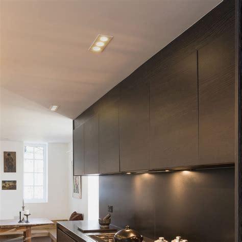 led ceiling lights gu10 ax5650 taro triple tilting downlight in matt white using