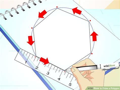 How To Draw A Polygon 3 ways to draw a polygon wikihow