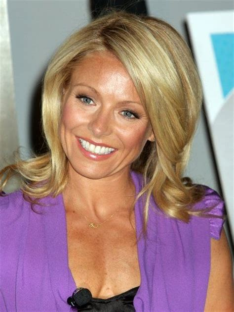 kelly ripa with curls 65 best images about hair on pinterest bobs kelly ripa