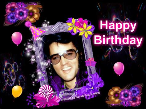 Elvis Birthday Cards Elvis Presley Virtual Birthday Cards Www Iheartelvis Net