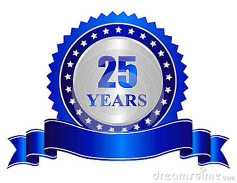 years anniversary seal stamp  banner stock