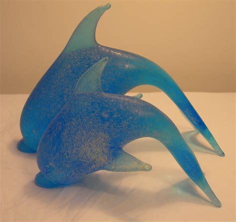 Home Design 15 60 pesci vetro di murano delfini animali da collezione colore