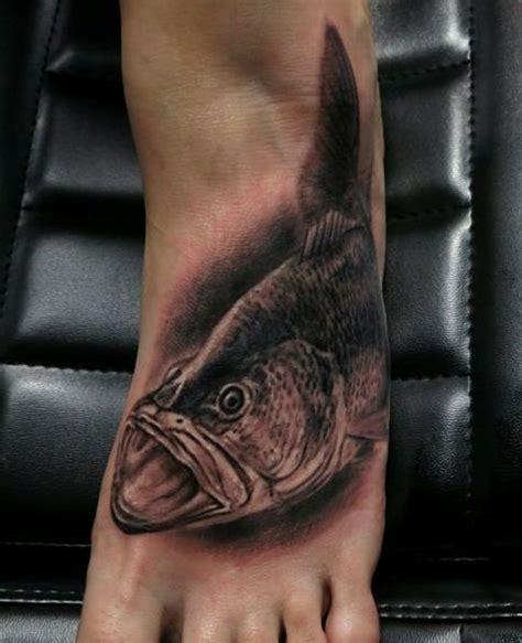 bass fish tattoo sea bass fish tattoo share jpg