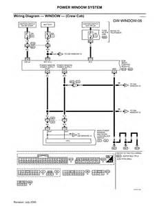 nissan titan power window switch wiring diagram