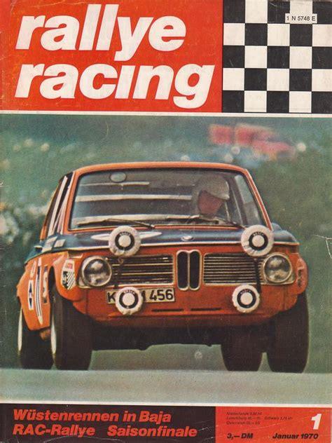 Rally Autos 1970 by Auto Zeitschrift Rallye Racing1975