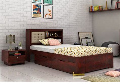 Best 25 Single Beds Ideas Single Beds Buy Wooden Single Bed Online India Upto 60