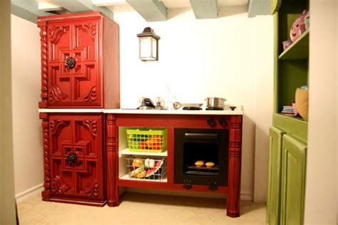 play kitchen quot renovation quot kitchen renovation diy plays remodelaholic build an indoor tree house with slide and