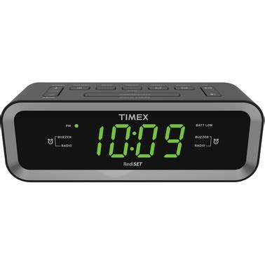 timex am fm dual alarm clock radio with usb charge port mobile device accessories