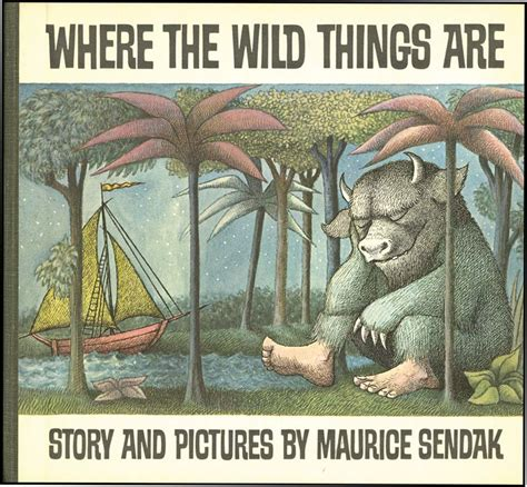 where the things are picture book where the things are maurice sendak