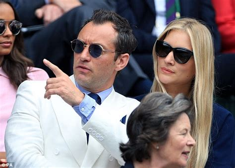Jude Is On The Lookout For Boxed by Wimbledon 2016 Sees Jude And Phillipa Coan Join Other