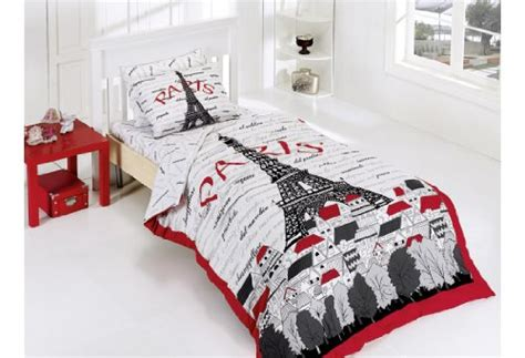 red and black paris themed bedrooms paris themed bedding