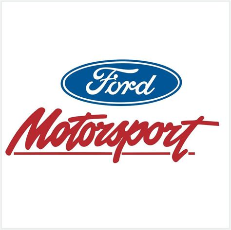 Ford Sticker by Ford Racing Decals Stickers
