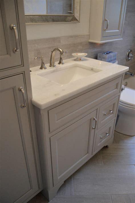 Mediterranean Bathroom Ideas Transitional Greige Bath Petzrick Chinn Designs