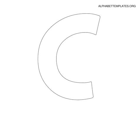 large letter c template gallery of best 25 large letter stencils ideas on