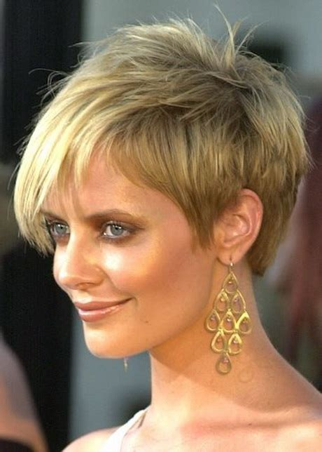 short cuts for thin faces short hair styles for round faces and thin hair