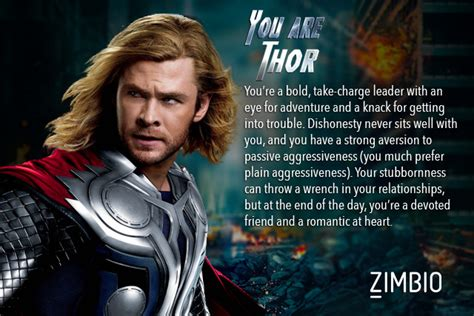 thor film quiz which avengers character are you quiz zimbio