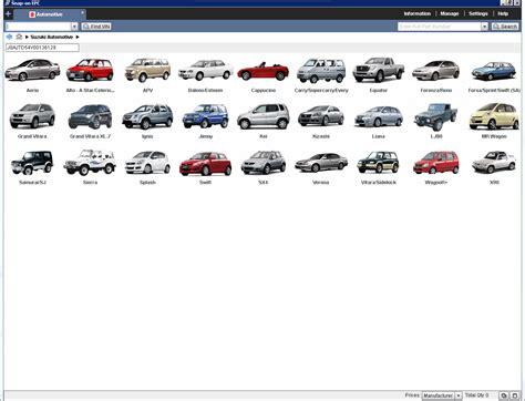 Spare Part Xenia 2014 suzuki worldwide automotive epc5 2014