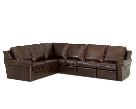 Leather Sofas Made In Usa Comfort Design West Ii Power Reclining Sectional