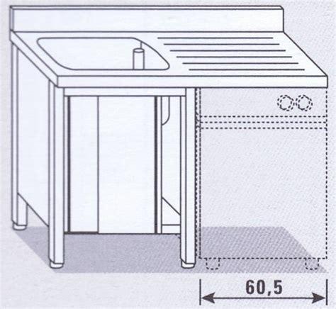 lavello cucina con lavastoviglie lavello una vasca su armadio per lavastoviglie