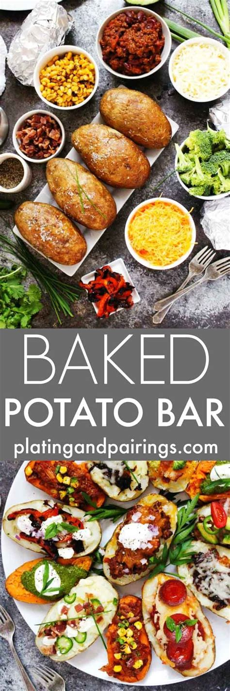 potato bar topping ideas 25 best ideas about baked potato bar on pinterest