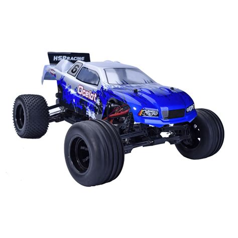 hsp nitro monster hsp 94108 rc truck 1 10 scale 2 4ghz nitro power 4wd off