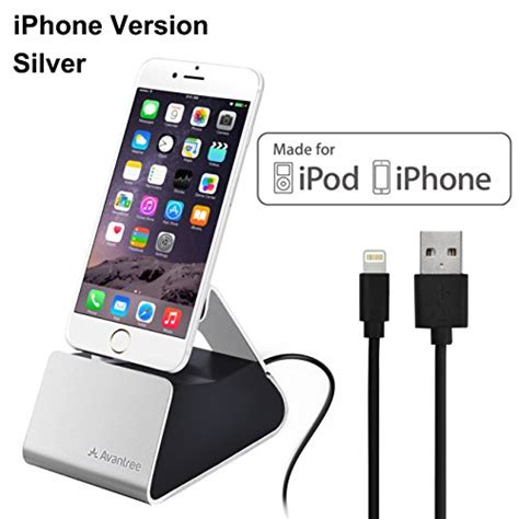 Lightning Dock Charging Iphone 5 6 Charging Iphone Kabel Micro Usb Usb avantree aluminum iphone charging dock with lightning cable import it all