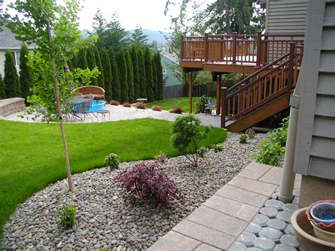 Landscaped Backyard Ideas Simple Backyard Ideas For Landscaping Room Decorating Ideas Home Decorating Ideas