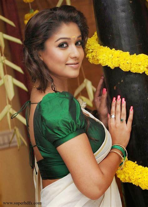 nayanthara sari new hd photo free download download nayanthara stills