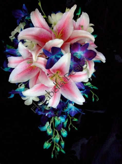 wedding bouquet lilies and orchids bouquet wedding flower 171 bouquet wedding flower