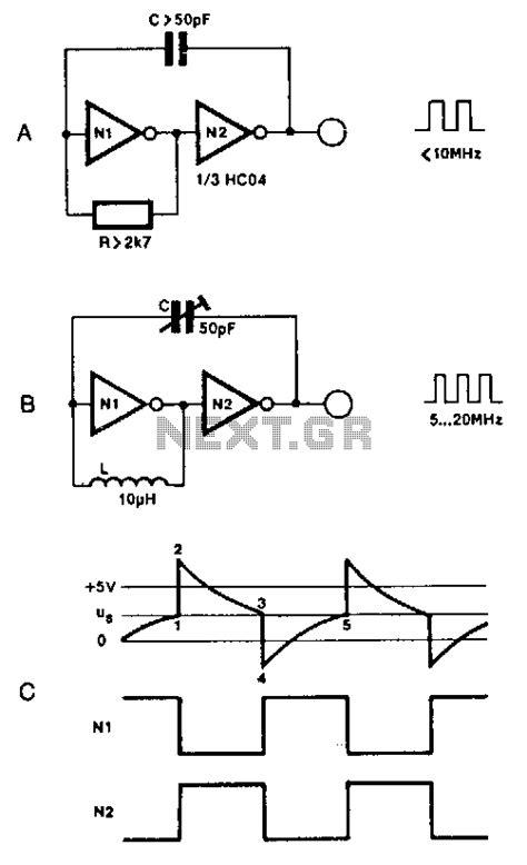 capacitor based oscillator capacitor based oscillator 28 images qrp homebuilder qrphb vxo based pll frequency