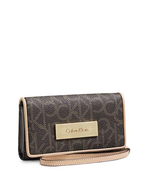 Calvin Klein Ck Wallet calvin klein womens tech wallet wristlet ebay