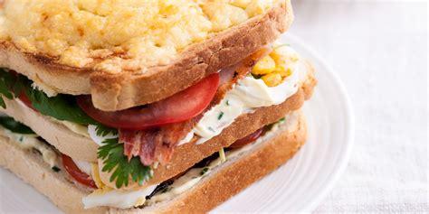 Buku Club Sandwich Pelengkap Chicken Soup For The Christian Soul bacon egg tomato mayo sandwich recipe great chefs