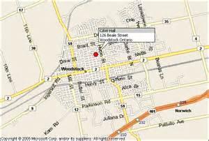 location of woodstock friendship in woodstock ontario