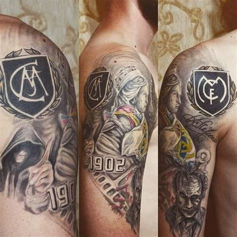 real madrid tattoo 6 real madrid tattoos on half sleeve