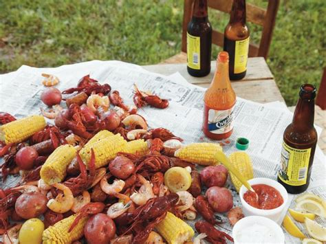 lowcountry boil from around the southern table serious