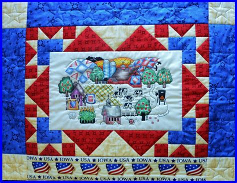 Heartland Quilt Shop by The Heartland Panel Pattern 57100