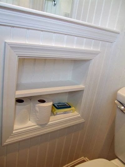 Shower Cubby by Toilet Paper Storage Cubby On Half Wall Bath Ideas