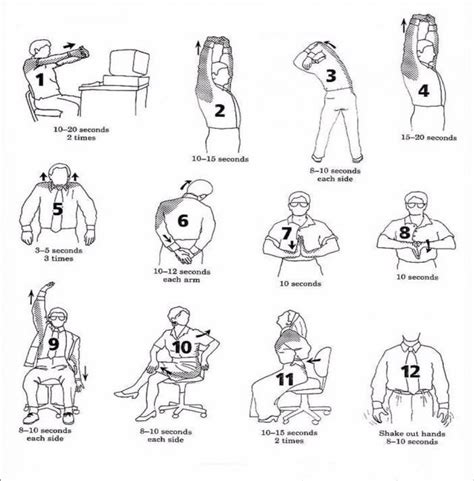 Computer And Desk Stretches Computer And Desk Stretches In A Physical Therapy State Of Mind P