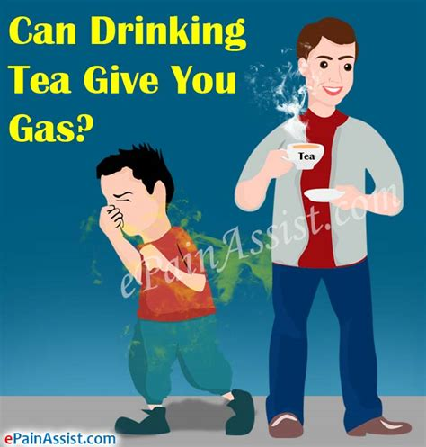 what can you give a for gas can tea give you gas