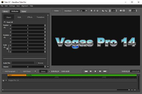 newbluefx text effect sony vegas magix vegas tutorial vegas pro 14 review magix