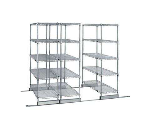 Storage Shelving Systems Skate Track Wire Shelving System Office Shelving