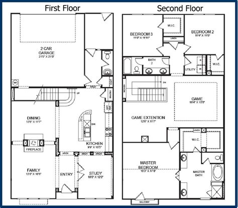 floor plans with garage ahscgs