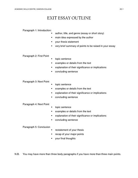 apa format research paper exle 2011 16 best images of college essay writing worksheet essay