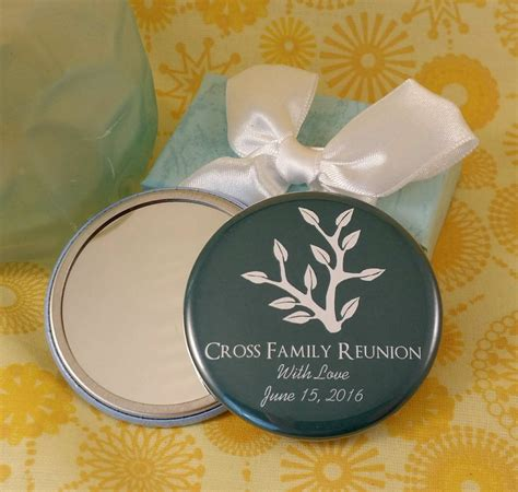 Family Reunion Giveaways - personalized family reunion mirrors or magnets